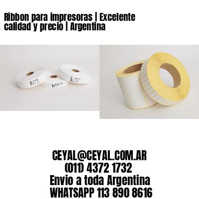 Ribbon para impresoras | Excelente calidad y precio | Argentina