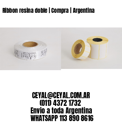 Ribbon resina doble | Compra | Argentina