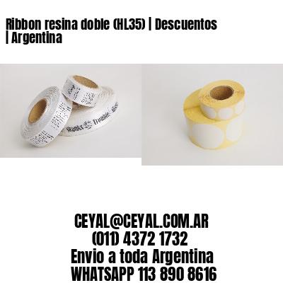 Ribbon resina doble (HL35)   Descuentos   Argentina