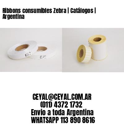 Ribbons consumibles Zebra | Catálogos | Argentina
