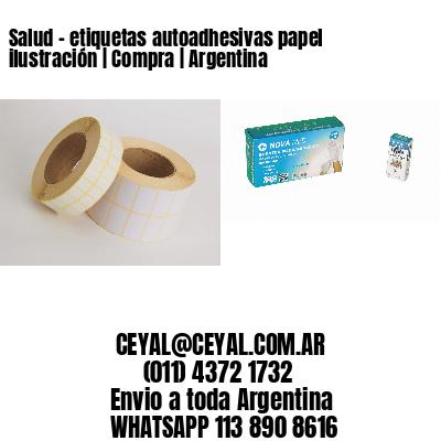 Salud - etiquetas autoadhesivas papel ilustración   Compra   Argentina
