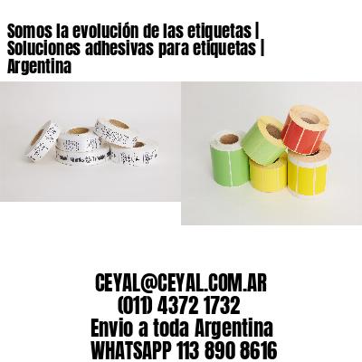 Somos la evolución de las etiquetas | Soluciones adhesivas para etiquetas | Argentina