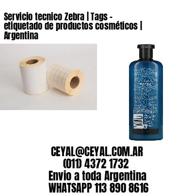 Servicio tecnico Zebra   Tags - etiquetado de productos cosméticos   Argentina